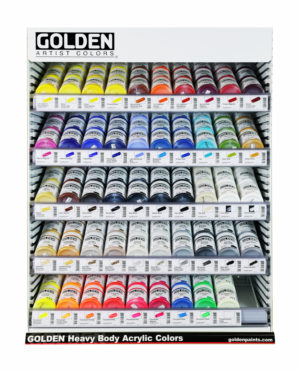 Golden Acrylic Set-ups (Displays)