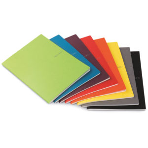 EcoQua Staple & Lined Page Notebooks - A4 (21cm x 29.7cm)