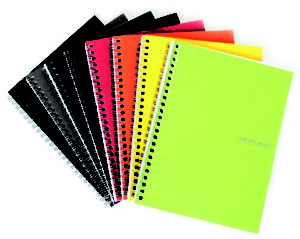 EcoQua Spiral & 5mm Graph Page Notebooks - A5 (14.8cm x 21cm)