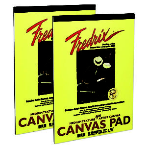 Fredrix Canvas Pads - 10 Sheets