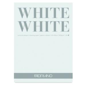 Fabriano® White White Pads