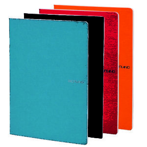 EcoQua Stapled & 5mm Graph Page Notebooks - A4 (21cm x 29.7cm)