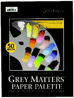 Grey Matters Paper Palette Pad