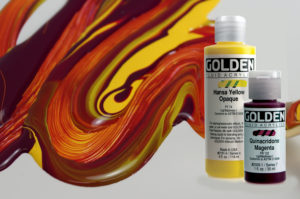 Golden Fluid Acrylics