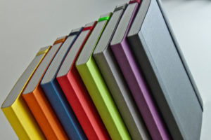 EcoQua Dotted Page Notebooks/Elastic - A6 (10.5cm x 14.8cm)