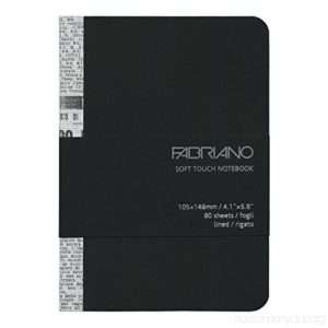 EcoQua Soft Touch Lined Page Notebooks - A6 (10.5cm x 14.8cm)