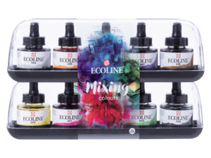 TALENS® Ecoline Liquid Watercolour Sets and Display