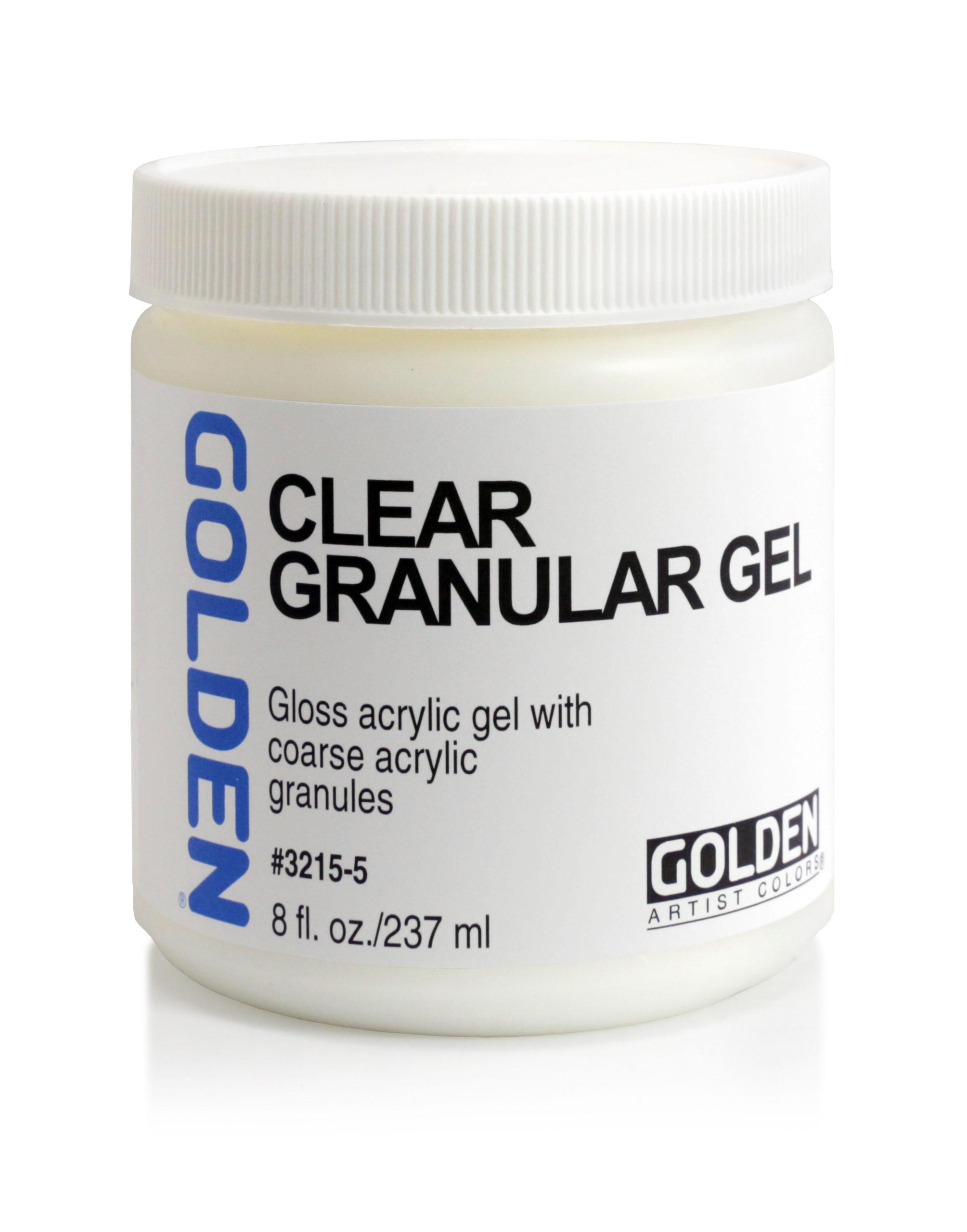 Clear Granular Gel