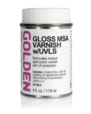 Gloss MSA Varnish w/UVLS