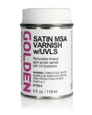 Satin MSA Varnish w/UVLS