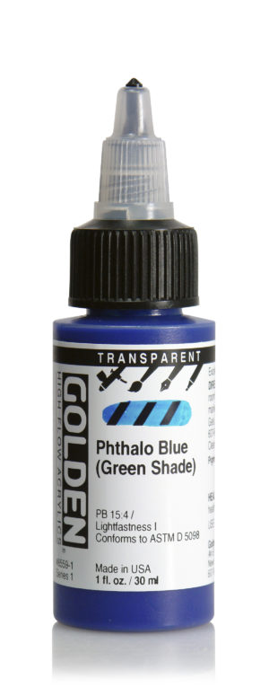 HF Transparent Phthalo Blue (G.S)