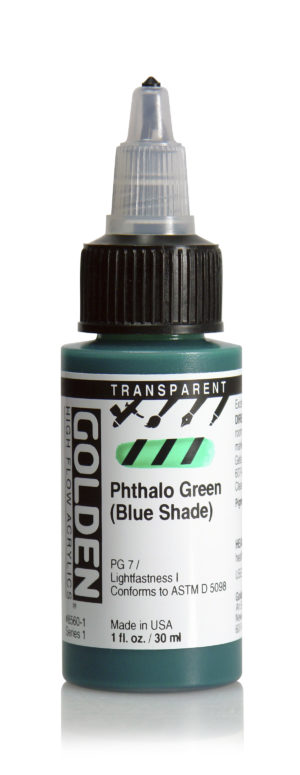 HF Transparent Phthalo Green (B.S.)