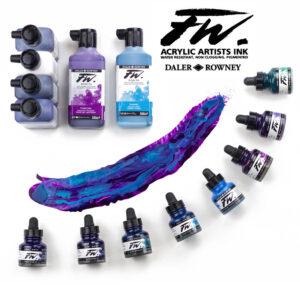 FW Acrylic Inks & Sets