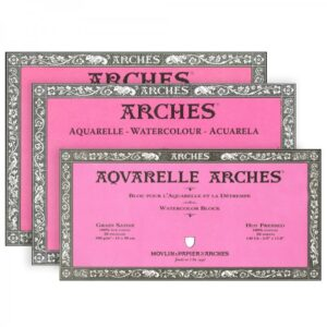 ARCHES® Watercolour Hot Pressed Blocks