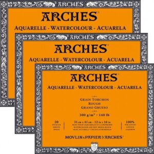 ARCHES® Watercolour Rough Blocks