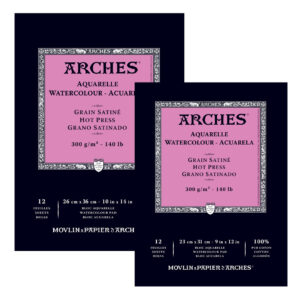ARCHES® Watercolour Hot Pressed Pads