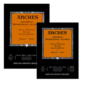 ARCHES® Watercolour Rough Pads