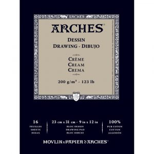 ARCHES® Cream Drawing Pads