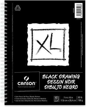Canson® XL® Black Drawing Pads & Boards