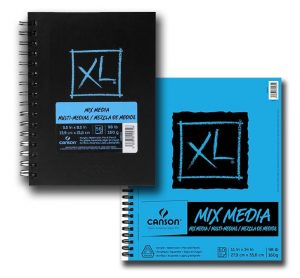 Canson® XL® Mix Media Pads, Hardcover Books, Sheets, Rolls & Art Boards