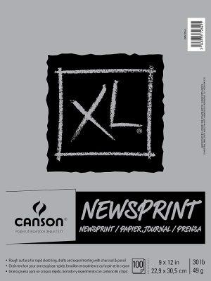Canson® XL® Newsprint Pads