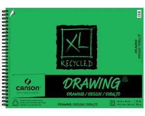 Canson® XL® Recycled Drawing Pads (70lbs./114g.)