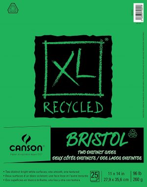Canson® XL® Recycled Bristol Pads