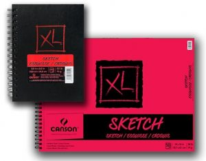 Canson® XL® Sketch Pads & Hardcover Books (50lbs./74g.)