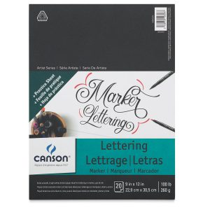 Canson®Lettering Marker & Watercolour Pads