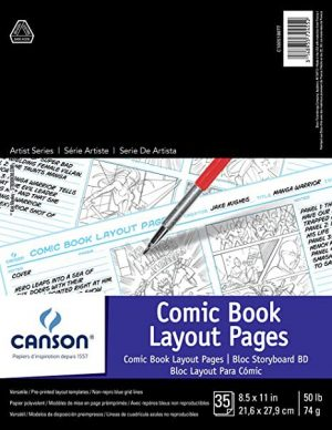 Canson® Comic Book Pad & Animation Papers