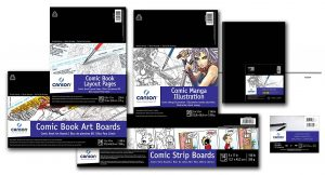 Canson® Comic Book/Manga Pads, Hardcover Book, Art Boards & Animation Paper