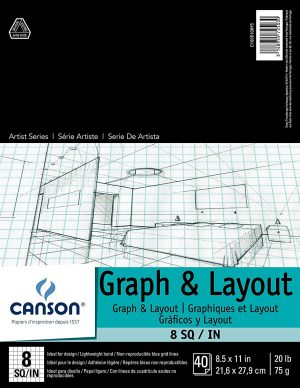 Canson® Graph & Layout Pads