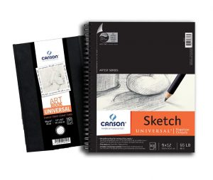 Canson® Universal Sketch Pads & Hardcover Art Books