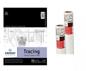 Canson® Tracing Pads and Rolls