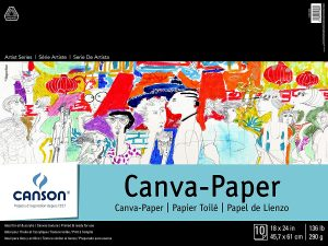 Canson® Canva-Paper Pads and Art Boards