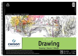 "Canson® ""C"" à Grain Drawing Pads, Sheets and Boards"
