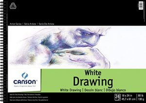 Canson® Pure White Drawing Pads, Sheets & Art Boards