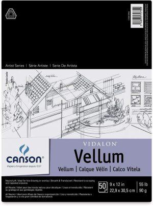 Canson® Vidalon Vellum Pads and Sheets