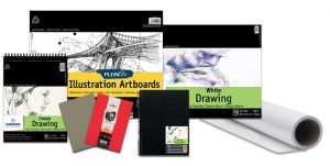 Assorted Canson® Drawing Pads, Sheets, Boards & Rolls