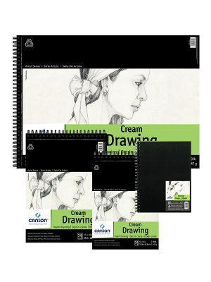 Canson® Classic Cream Pads, Sheets & Hardcover ArtBooks