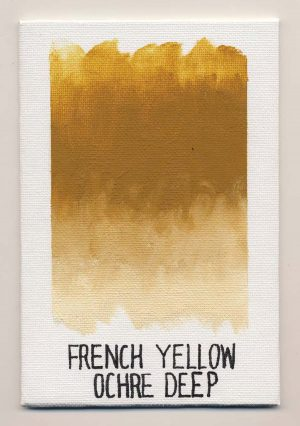 WILLIAMSBURG oils FRENCH YELLOW OCHRE DEEP 0040