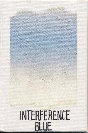 WILLIAMSBURG oils INTERFERENCE BLUE 1803