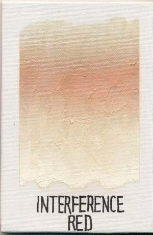 WILLIAMSBURG oils INTERFERENCE RED 1873