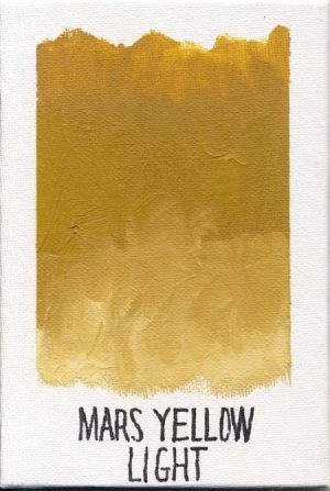 WILLIAMSBURG oils MARS YELLOW LIGHT 1342