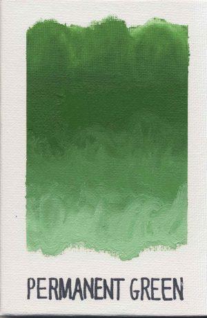 WILLIAMSBURG oils PERMANENT GREEN 1263
