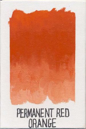 WILLIAMSBURG oils PERMANENT RED ORANGE 563