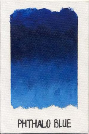 WILLIAMSBURG oils PHTHALO BLUE 1004