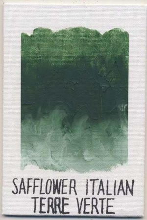 WILLIAMSBURG oils SAFFLOWER ITALIAN TERRA VERTE