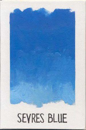 WILLIAMSBURG oils SEVRES BLUE 823