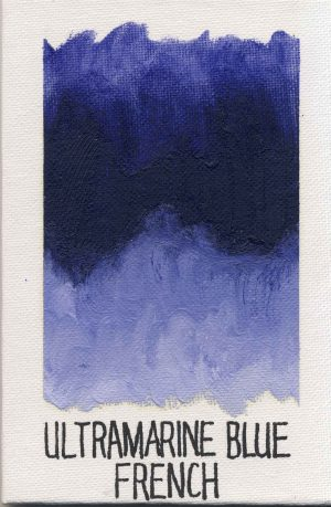 WILLIAMSBURG oils ULTRAMARINE BLUE FRENCH 962